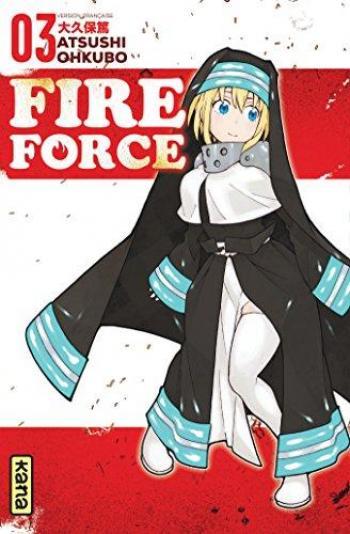 Couverture de l'album Fire Force - 3. Tome 3