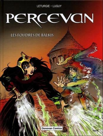 Couverture de l'album Percevan - HS. Les Foudres de Balkis