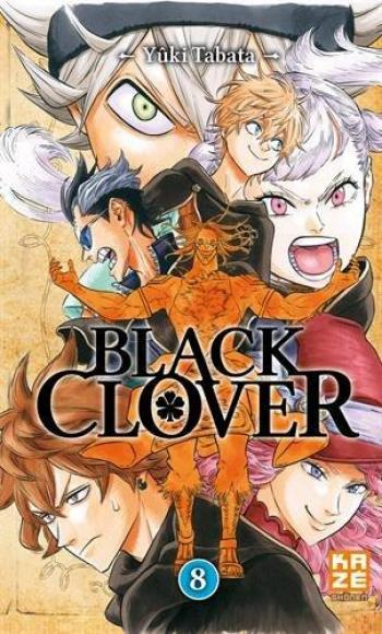 Couverture de l'album Black Clover - 8. Tome 8