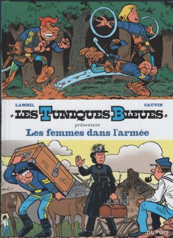 Couverture de l'album Les Tuniques bleues présentent - 9. Les femmes dans l'armée