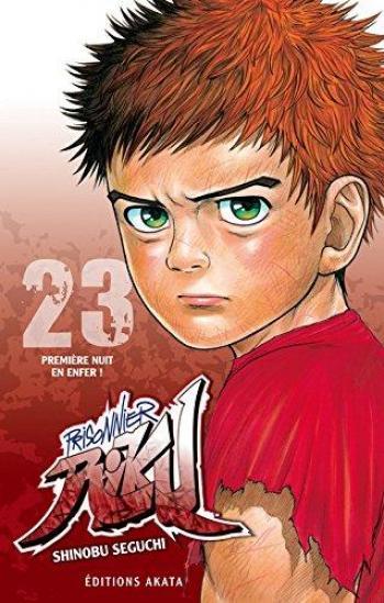 Couverture de l'album Prisonnier Riku - 23. Première nuit en enfer !