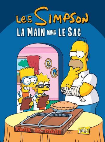 Couverture de l'album Les Simpson (Jungle) - 34. La main dans le sac