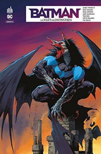 Couverture de l'album Batman - La nuit des monstres (One-shot)