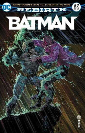 Couverture de l'album Batman Rebirth (Urban Presse) - 7. Le chat et la chauve-souris !