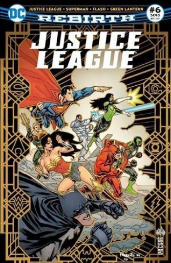 Couverture de l'album Justice League Rebirth (Urban Presse) - 6. Luthor accusé !