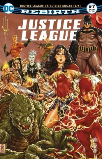 Couverture de l'album Justice League Rebirth (Urban Presse) - 7. Justice League vs Suicide Squad (2/3)