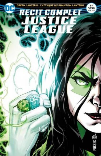 Couverture de l'album Justice League Rebirth - Récit Complet - 4. Green Lantern : L'attaque du Phantom Lantern
