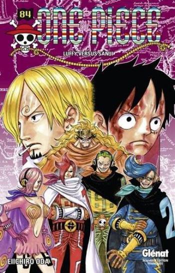 Couverture de l'album One Piece - 84. Luffy versus Sanji
