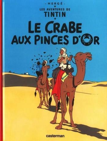 Couverture de l'album Les Aventures de Tintin - 9. Le Crabe aux Pinces d'Or