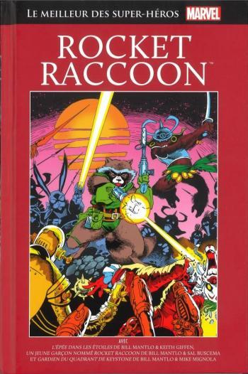 Couverture de l'album Marvel - Le meilleur des super-héros - 45. Rocket Raccoon