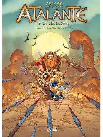 Couverture de l'album Atalante - La Légende - 10. Les Hordes de Sargon
