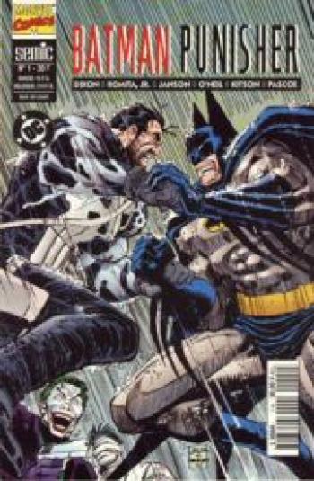 Couverture de l'album Batman Punisher (One-shot)