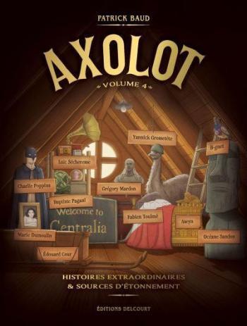 Couverture de l'album Axolot - 4. Volume 4