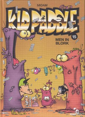Couverture de l'album Kid Paddle - 15. Men In Blork