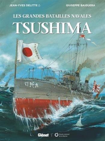 Couverture de l'album Les Grandes Batailles navales - 5. Tsushima