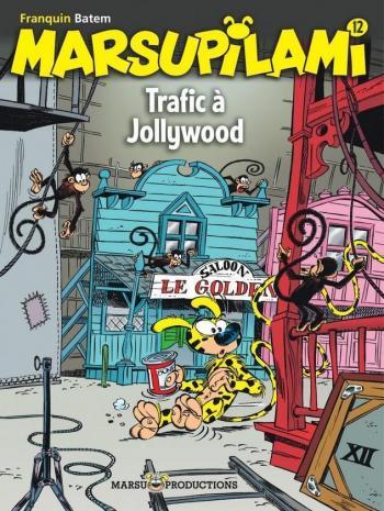 Couverture de l'album Marsupilami - 12. Trafic à Jollywood