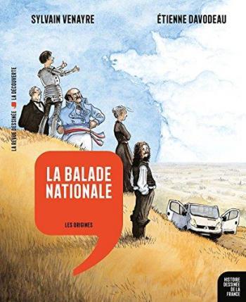 Couverture de l'album Histoire dessinée de la France - 1. La Balade Nationale - Les origines
