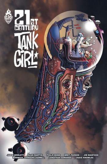 Couverture de l'album Tank Girl - HS. 21st Century Tank Girl