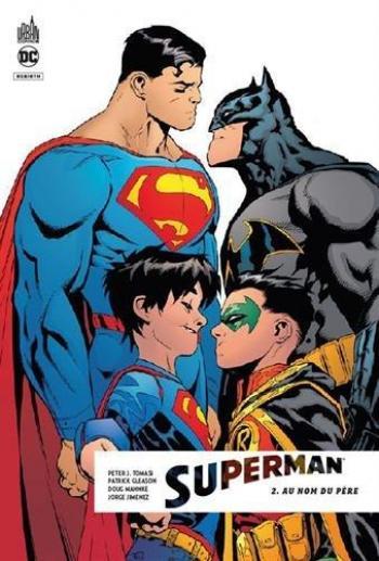 Couverture de l'album Superman Rebirth - 2. Au nom du père