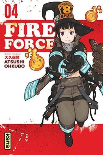 Couverture de l'album Fire Force - 4. Tome 4