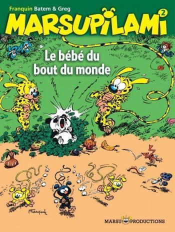 Couverture de l'album Marsupilami - 2. Le Bébé du bout du monde