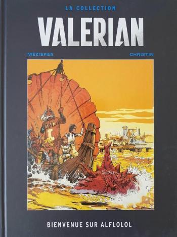 Couverture de l'album Valérian (Hachette) - 4. Bienvenue sur Alflolol