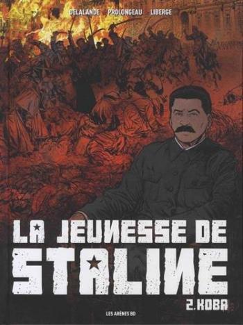 Couverture de l'album La Jeunesse de Staline - 2. Koba