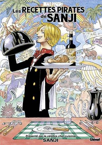 Couverture de l'album One Piece - HS. Les Recettes pirates de Sanji