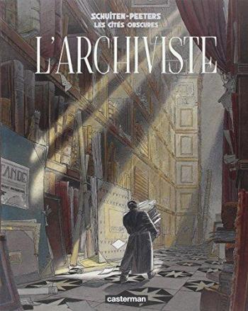 Couverture de l'album Les Cités obscures - HS. L'archiviste