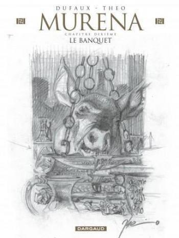 Couverture de l'album Murena - 10. Le Banquet