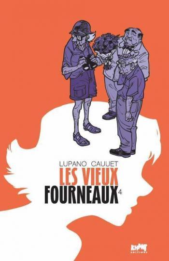 Couverture de l'album Les Vieux Fourneaux - 4. La magicienne