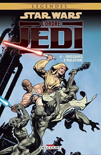 Couverture de l'album Star Wars - L'Ordre Jedi - 4. Émissaires à Malastare
