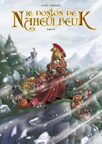 Couverture de l'album Le Donjon de Naheulbeuk - 21. Sixième saison - Partie 3
