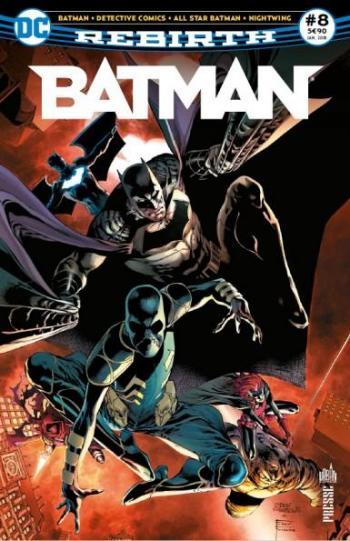 Couverture de l'album Batman Rebirth (Urban Presse) - 8. La Ligue des Ombres est à Gotham !