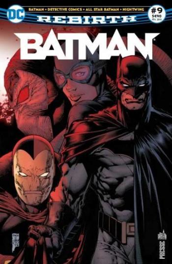 Couverture de l'album Batman Rebirth (Urban Presse) - 9. Bane est à Gotham !