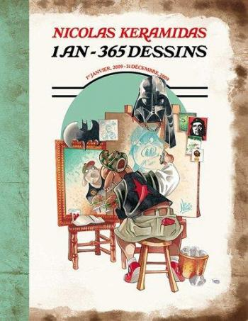 Couverture de l'album 1 an - 365 dessins (One-shot)