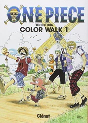 Couverture de l'album One Piece - Color Walk - 1. Color Walk 1