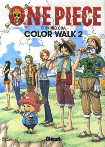 Couverture de l'album One Piece - Color Walk - 2. Color Walk 2