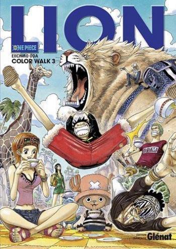 Couverture de l'album One Piece - Color Walk - 3. Lion