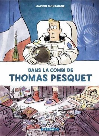 Couverture de l'album Dans la combi de Thomas Pesquet (One-shot)