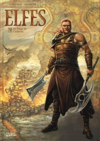 Couverture de l'album Elfes - 9. Le siège de Cadanla