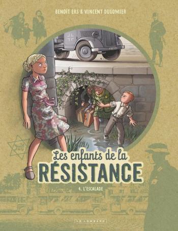Couverture de l'album Les Enfants de la Résistance - 4. L'escalade