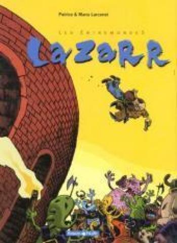 Couverture de l'album Les Entremondes - 1. Lazarr