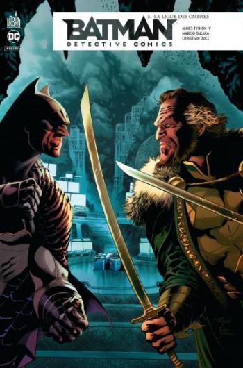 Couverture de l'album Batman - Détective Comics - 3. La ligue des ombres