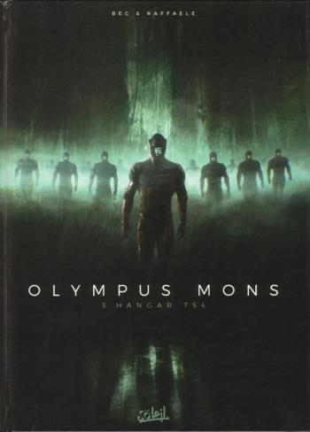 Couverture de l'album Olympus Mons - 3. Hangar 754