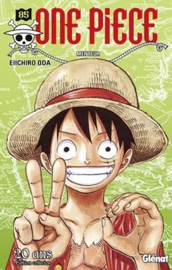 Couverture de l'album One Piece - 85. Menteur (édition 20 ans)