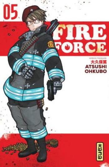 Couverture de l'album Fire Force - 5. Tome 5