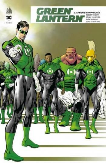 Couverture de l'album Green Lantern Rebirth - 2. Ennemis rapprochés