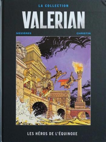 Couverture de l'album Valérian (Hachette) - 8. Les héros de l'équinoxe