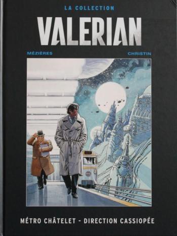 Couverture de l'album Valérian (Hachette) - 9. Métro Châtelet - Direction Cassiopée
